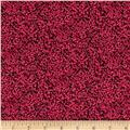 Aurelia Dotty Texture Metallic Raspberry