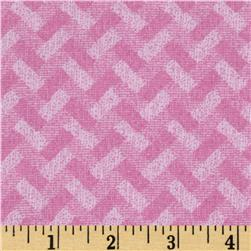 Madison Basketweave Pink Fabric