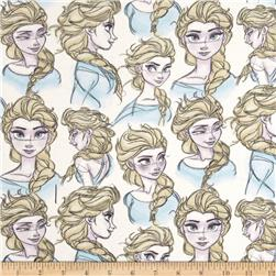 Disney Frozen Knit Elsa Sketch