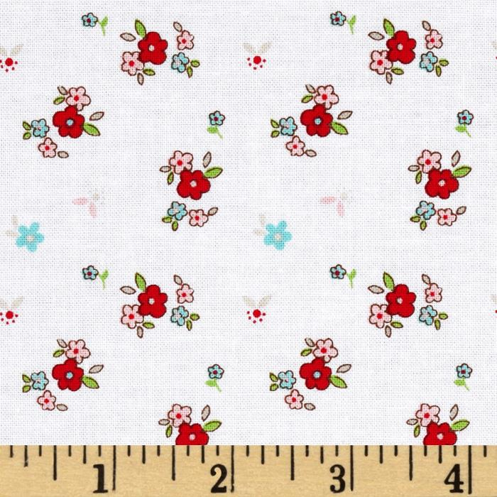 Riley Blake Little Red Riding Hood Little Floral White