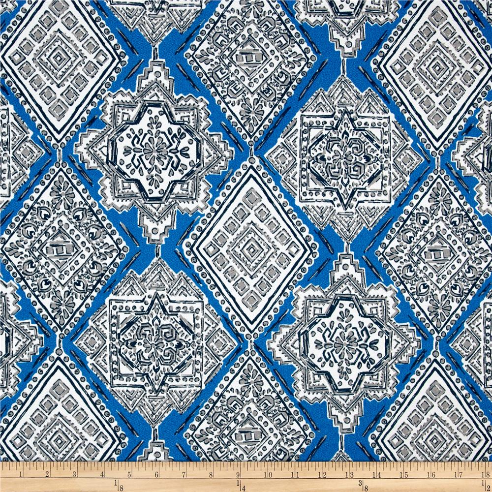Premier Prints Milan Indoor/Outdoor Cobalt