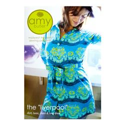 Midwest Modern Amy Butler Liverpool Shirt, Tunic, Short & Long Dress Pattern