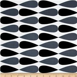 Kaufman Geo Pop Canvas Home Decor Exclamation Stripe Pepper