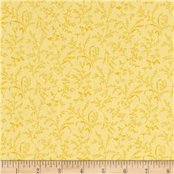 Moda Summer Breeze IV Leaves & Wheat Yellow