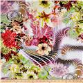 Rayon Digital Challis The Gardens Multi