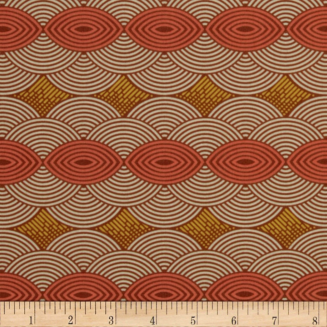Joel Dewberry Bungalow Cloud Cover Chestnut Fabric