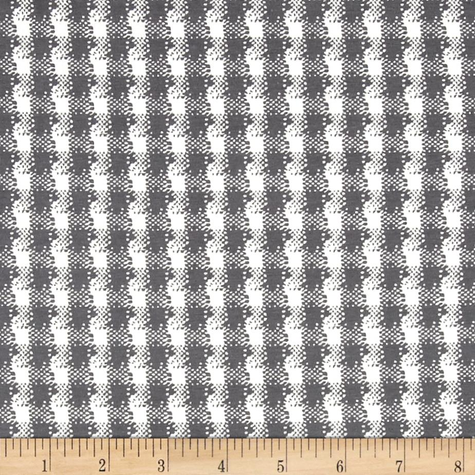 Art Gallery Mad Plaid Jersey Knit Classic Mademoiselle Plaid Fabric
