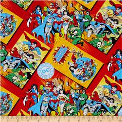 DC Comics Comic Book Covers Red