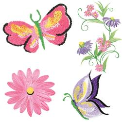 S-Embroidery.com - Machine embroidery designs in free standing