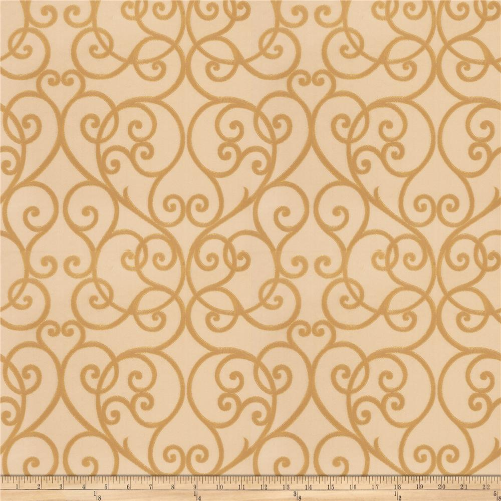 Trend 03533 Faux Silk Antique Gold