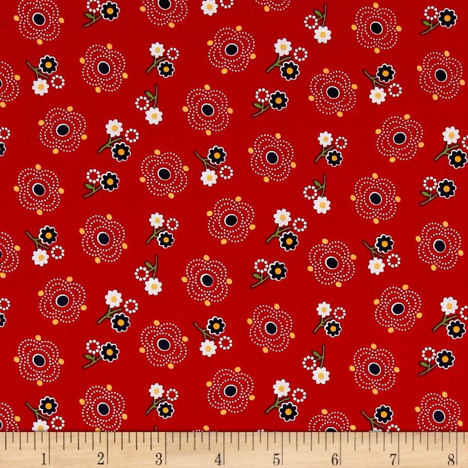 Rose cotton fabric floral for Gingham fabric