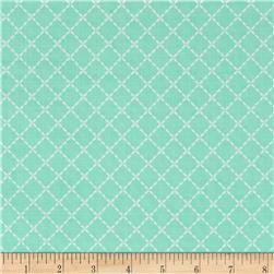 Moda Lullaby Quilted Aqua