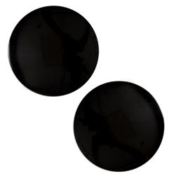 Fashion Button 1 1/4'' Boise Black