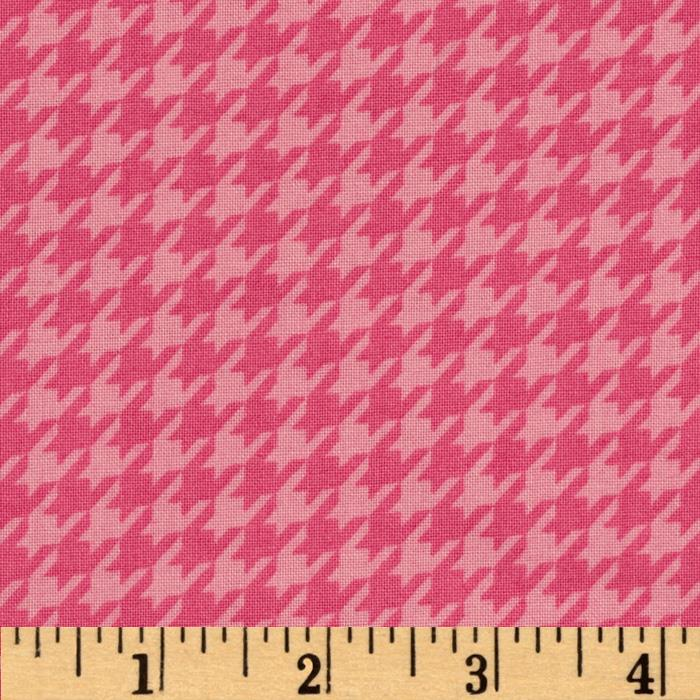Kimberbell's Merry & Bright Houndstooth Pink