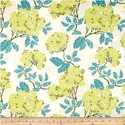 Joel Dewberry Birch Farm Home Decor Sateen Hydrangea Sage