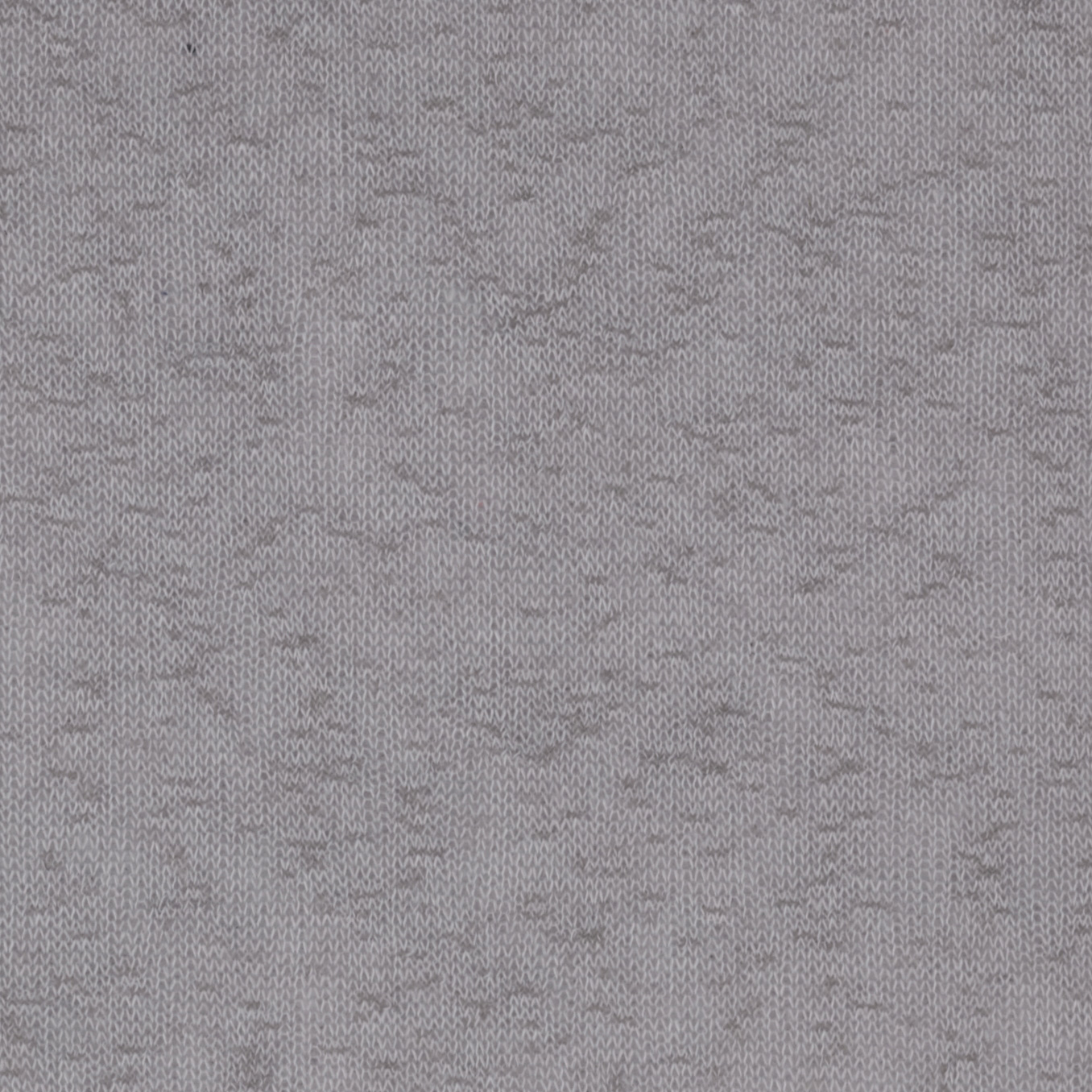 Stretch Tissue Slub Hatchi Knit Silver Fabric