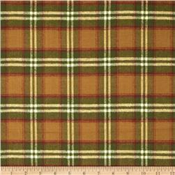 Primo Plaids Flannel Christmas II Tartan Plaid Cream/Red