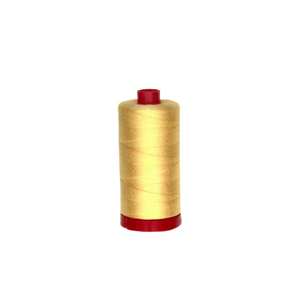 Aurifil 12wt Embellishment and Sashiko Dreams Thread Medium Butter