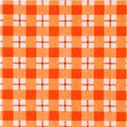 Ric Rac Paddywack Flannel Plaid Orange