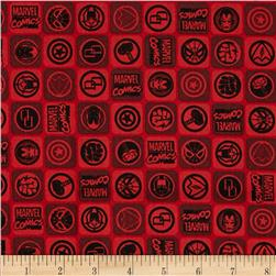 Marvel Comics Icons Red