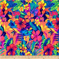 Tahitian Printed Athletic Knit Floral Original