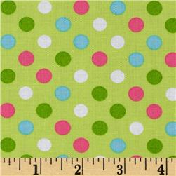 Kaufman Spot On Medium Dot Sorbet Fabric