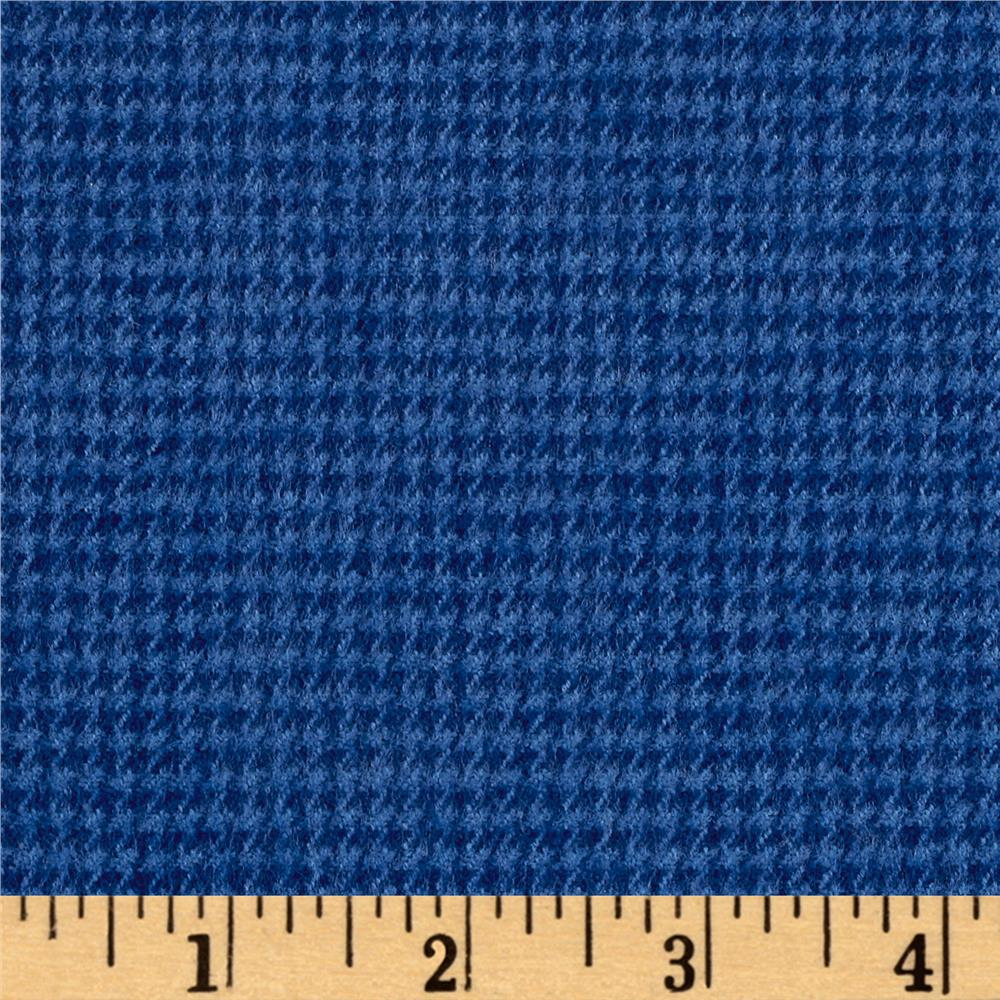 Marcus Primo Plaids Color Crush Flannel Houndstooth Dark Blue