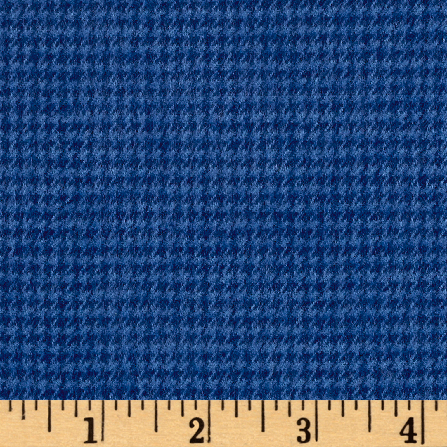 Marcus Primo Plaids Color Crush Flannel Houndstooth Dark Blue Fabric by Marcus in USA