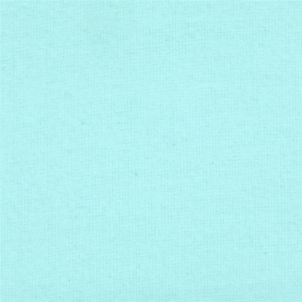 Bear Hugs Flannel Fluffy Solid Aqua