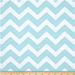 Haute Girls Chevron Aqua