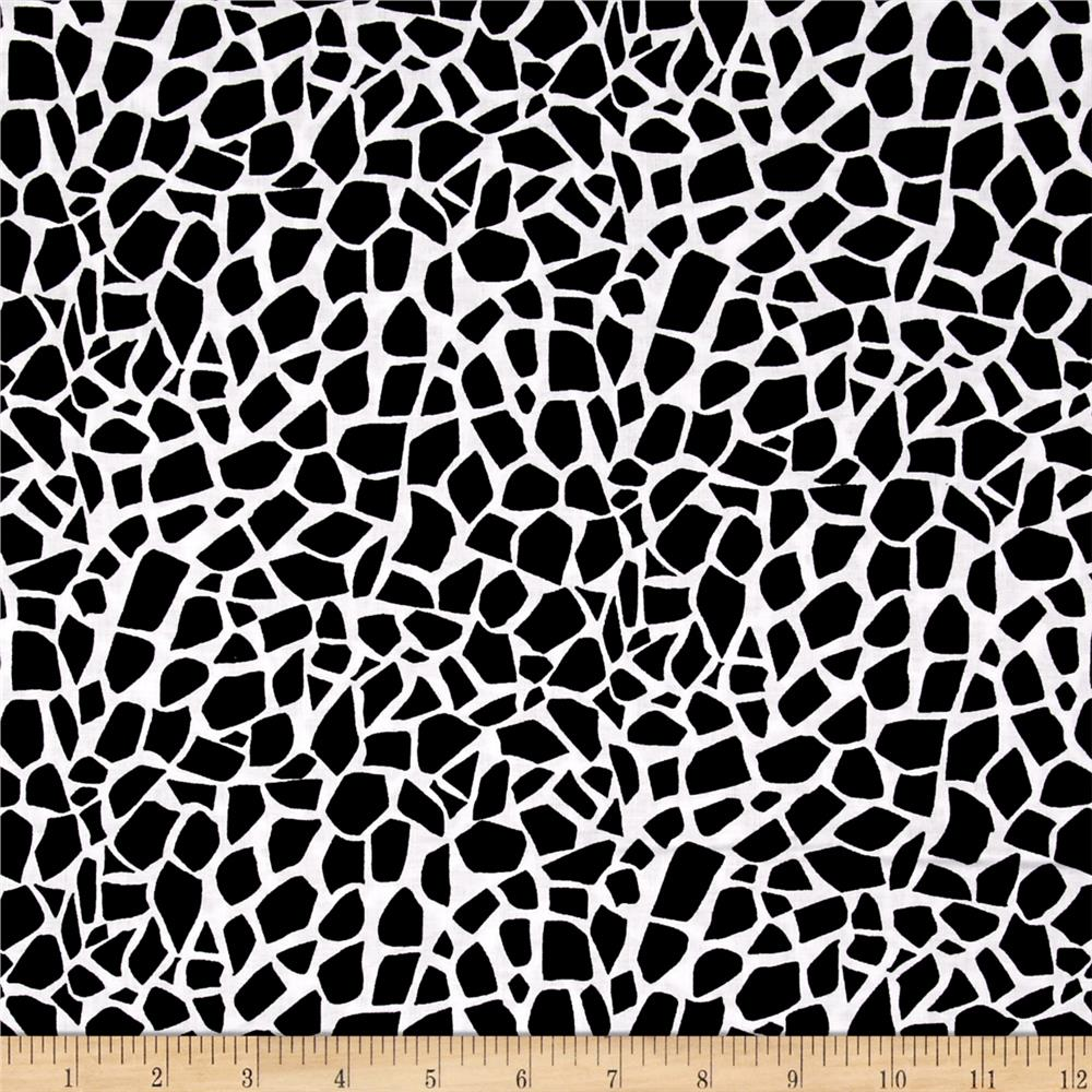 Kanvas Jungle Jive Giraffe Spots White/Black