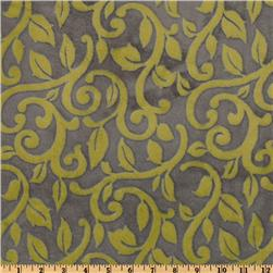 Mar Bella Minky Granada Cuddle Olivia Green Fabric