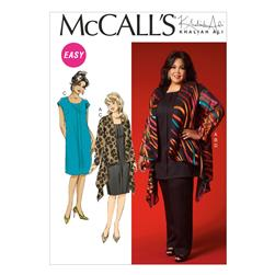 McCall's Women's Jacket, Tunic, Dress and Pants Pattern M7029 Size KK0