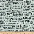 Hot Dogs & Cool Cats Organic Cat Names Light Grey