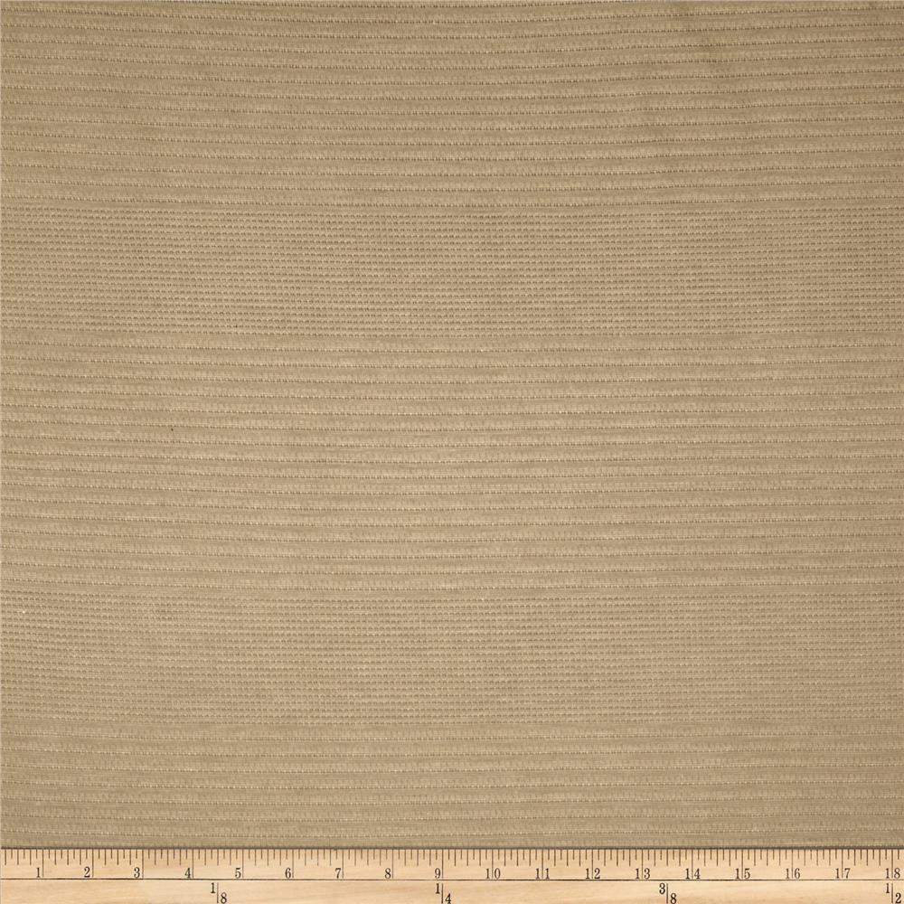 Tissue Knit Pointelle Stripe Sand