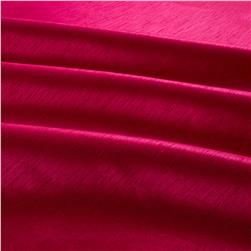 Shantung Sateen Dark Fuchsia Fabric
