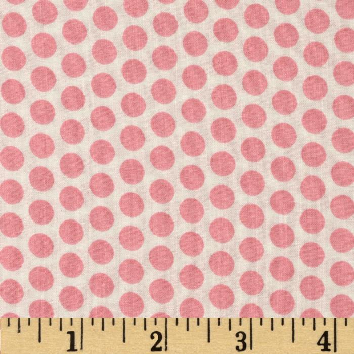 Basic Training Medium Dot White/Pink