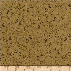 Moda Lexington Paisley Vine Tan