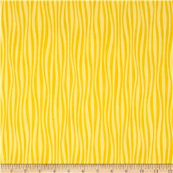 Moda Dogwood Trail II Wavy Stripe Sunshine