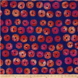 Artisan by Kaffe Fasset Batik Saw Circles Royal