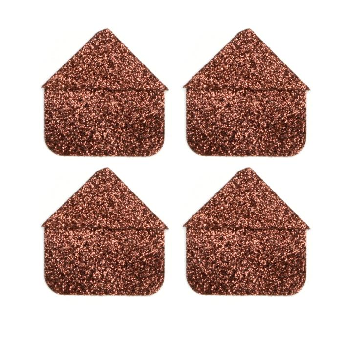 Martha Stewart Crafts Photo Corners Brownstone Glitter