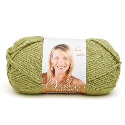 Lion Brand Vanna's Choice Yarn (173) Dusty Green
