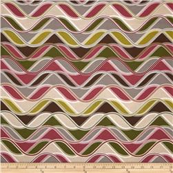 Robert Kaufman Vantage Point Wavy Stripe Taupe