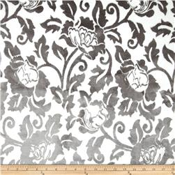 KasLen Cut Velvet Floral Shadow