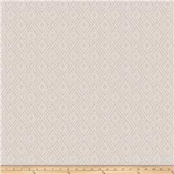 Fabricut Gilcrease Diamond Linen Blend White Sparkle