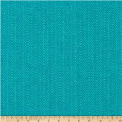 Meridian Mini Herringbone Teal