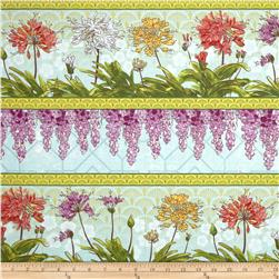 Serenity Garden Repeating Stripe Multi