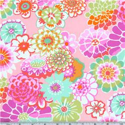 Kaffe Fassett Asian Circles Pink Fabric