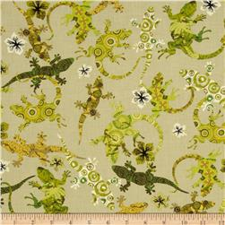 Kanvas The Camo Effect Gecko Camo Tan Fabric