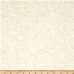 Essentials Swirly Scroll Light Ivory